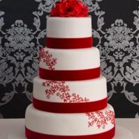 redvelvetlaceweddingcake